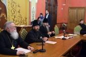Митрополит Волоколамский Иларион встретился с участниками конференции «Старый обряд в жизни Русской Православной Церкви: прошлое и настоящее»