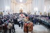 В Смольном соборе Санкт-Петербурга прошли тожества по случаю памяти мученицы Татианы — покровительницы российского студенчества
