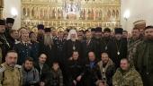 Председатель Синодального комитета по взаимодействию с казачеством возглавил поминальное богослужение в казачьем храме на Ходынском поле
