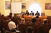 В рамках Рождественских чтений состоялось совещание руководителей епархиальных издательских отделов и православных издательств