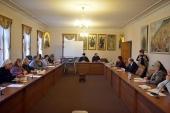 В ОВЦС прошел круглый стол, посвященный межконфессиональному обмену опытом в сфере социального служения