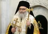 Поздравление Святейшего Патриарха Кирилла Предстоятелю Антиохийской Православной Церкви с 5-летием интронизации