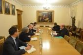 Заместитель председателя ОВЦС встретился с координатором рабочей группы от ОБСЕ по гуманитарным вопросам в рамках Трехсторонней контактной группы в Минске
