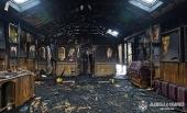 Во Львове радикалы подожгли храм Украинской Православной Церкви
