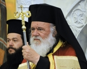 Поздравление Святейшего Патриарха Кирилла Предстоятелю Элладской Православной Церкви с десятой годовщиной избрания на престол Архиепископов Афинских и всей Эллады