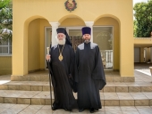 Предстоятель Александрийской Православной Церкви посетил русский храм в ЮАР