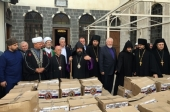 Завершилась межрелигиозная гуманитарная акция в Сирии и Ливане, ставшая беспрецедентной по объему переданной помощи