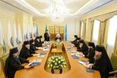 В Алма-Ате состоялось первое в 2018 году заседание Синода Казахстанского митрополичьего округа