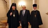 Управляющий Берлинско-Германской епархией встретился с послом России в Германии