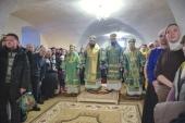 В Вологодской митрополии прошли торжества по случаю 450-летия преставления преподобного Феодосия Тотемского