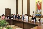 Делегация Синодального отдела по благотворительности посетила Египет