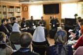 Руководители социальных отделов епархий из Средней Азии прошли стажировку в Екатеринбурге