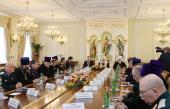 Встреча Святейшего Патриарха Кирилла с атаманами реестровых казачьих войск и войсковыми казачьими священниками