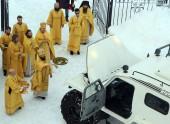 На Чукотку доставлен вездеход, подаренный Святейшим Патриархом Кириллом Анадырской епархии