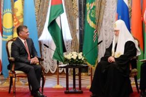 Состоялась встреча Предстоятеля Русской Православной Церкви с Королем Иордании