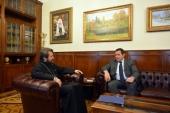 Председатель ОВЦС встретился с председателем Партии христианских демократов Франции