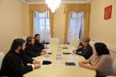 Митрополит Волоколамский Иларион встретился с руководителем Россотрудничества