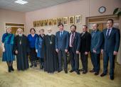 Патриарший экзарх всея Беларуси и ректор Белорусского государственного университета обсудили перспективы развития Института теологии БГУ