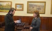 Председатель Отдела внешних церковных связей наградил российского востоковеда медалью святителя Марка Эфесского