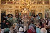 В праздник Сретения Господня Патриарший наместник Московской епархии возглавил престольные торжества в подмосковном Дмитрове