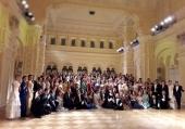При поддержке Синодального отдела по делам молодежи в Москве прошел XI Сретенский бал православной молодежи