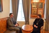 Состоялась встреча председателя ОВЦС с послом Португалии в России
