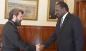 Митрополит Волоколамский Иларион встретился с послом Республики Судан в Российской Федерации