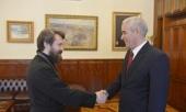 Состоялась встреча председателя ОВЦС с новоназначенным послом Кубы в России
