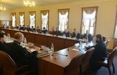 Митрополит Волоколамский Иларион возглавил заседание Комиссии по международному сотрудничеству Совета по взаимодействию с религиозными объединениями при Президенте России