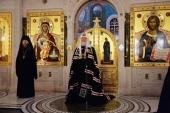 Проповідь Святішого Патріарха Кирила після великого повечір'я в четвер першої седмиці Великого посту в Стрітенському монастирі м. Москви