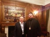 В Нью-Йорке состоялась встреча управляющего Патриаршими приходами в США с председателем Комитета Государственной Думы РФ по развитию гражданского общества США
