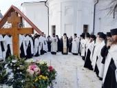 На 40-й день после кончины архимандрита Венедикта (Пенькова) в Оптиной пустыни совершена панихида