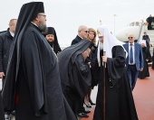 Начался визит Святейшего Патриарха Кирилла в Болгарскую Православную Церковь