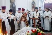 Состоялось отпевание старейшего клирика Белорусской Православной Церкви протоиерея Иоанна Мисеюка