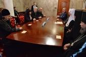 Состоялась встреча Святейшего Патриарха Кирилла с председателем Парламента Болгарии