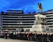 По случаю Национального праздника Республики Болгария в Софии состоялась торжественная воинская церемония