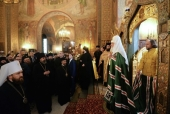 Святейший Патриарх Кирилл посетил Подворье Русской Православной Церкви в Софии