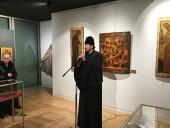 В Духовно-культурном центре в Париже начала работу уникальная выставка русских икон XVI-XIX веков