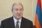 Поздравление Святейшего Патриарха Кирилла А.В. Саркисяну с избранием на должность Президента Республики Армения