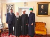 Патриарший наместник Московской епархии встретился с председателем Духовного собрания мусульман России