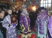 Впервые за всю историю существования исправительных учреждений в Карелии совершена Божественная литургия архиерейским чином