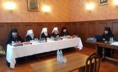 Высший общецерковный суд провел заседание в обновленном составе