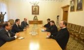 Председатель ОВЦС встретился с министром туризма Сирии