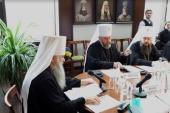 Слово митрополита Санкт-Петербургского Варсонофия на заседании рабочей группы по подготовке воспитанников духовных школ к пастырскому служению