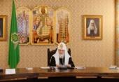 Святейший Патриарх Кирилл: Храмы в вузах — это место, по которому профессура и студенчество судят о Церкви