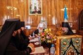 В столице Узбекистана состоялось первое в 2018 году заседание Священного Синода Среднеазиатского митрополичьего округа