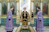 В Неделю преподобного Иоанна Лествичника митрополит Минский Павел совершил Литургию в Свято-Духовом кафедральном соборе Минска
