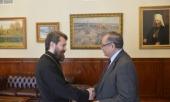 Председатель Отдела внешних церковных связей встретился с послом Египта в России