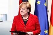 Вітання Святішого Патріарха Кирила Ангелі Меркель з переобранням на пост Федерального канцлера Республіки Німеччина