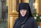 Патриаршее поздравление настоятельнице Иоанновского ставропигиального монастыря игумении Людмиле (Волошиной) с юбилеем